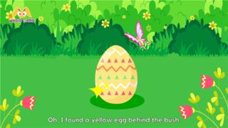 益智幼儿课件动画系列片-Easter Egg Hunt