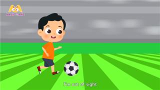 幼儿启蒙教育课件动画片-football rocker