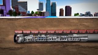 城市轨道工程隧道施工动画