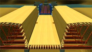 桥梁挂篮工程施工三维动画