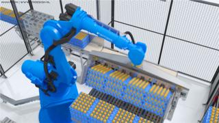 机械手臂三维动画视频演示-机械臂工作过程