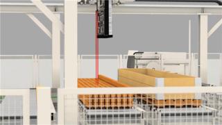 木材加工-生产工艺流程动画