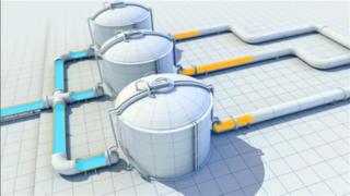 3D动画演示-天然气液化工艺