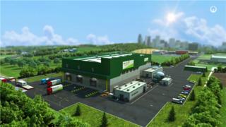 食品饮料行业-生产流程动画