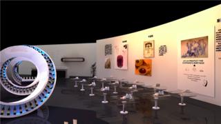 场馆虚拟场景-建筑演示动画