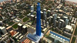周大福-建筑项目投标3D动画