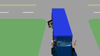 交通事故-安全演示动画