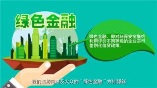 昆山绿色金融-银行宣传动画