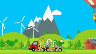 环保公益-现代工业科技动画