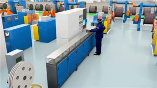 中天科技智慧工厂3D动画